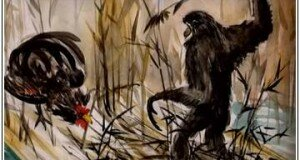 Мужчина обезьяна